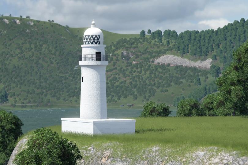 Transport Fever 2 - Shionomisaki Lighthouse