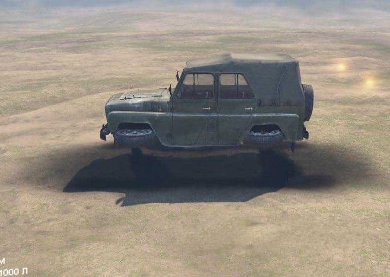 """Spintires - Series: """"Flying Cars"""" Mod"""