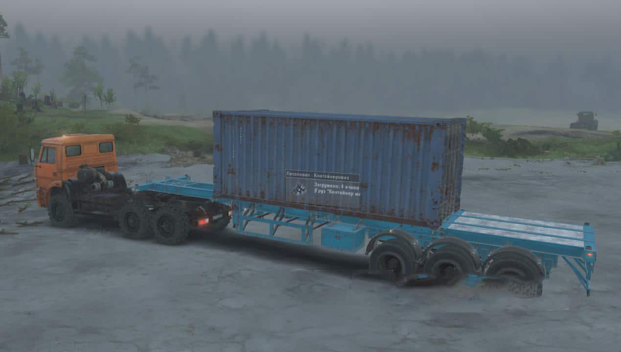 Spintires - Carriers – Container Carrier and Container Carrier 2 Series V1.0