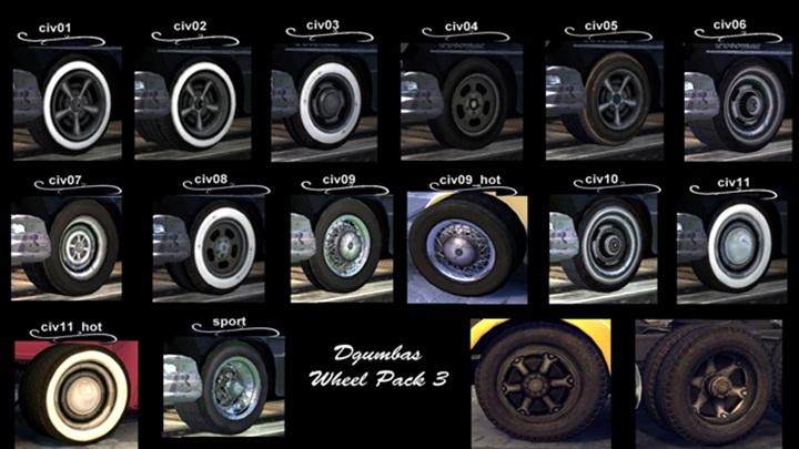 Mafia 2 – Bold Wheel Pack