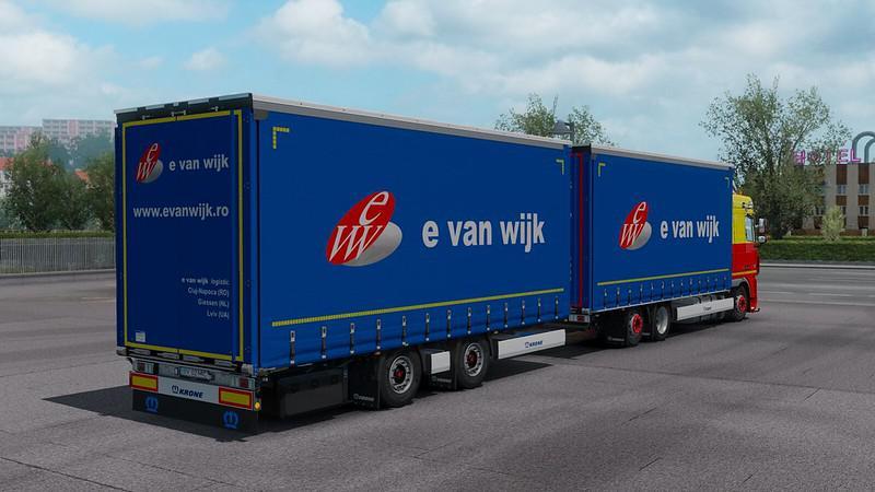 ETS2 - E Van Wijk Skinpack V1.0 (1.35.X)