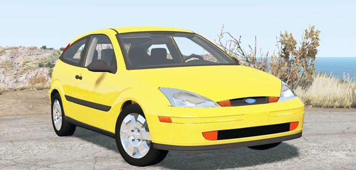 BeamNG - Ford Focus ZX3 (DBW) 2000 Car Mod