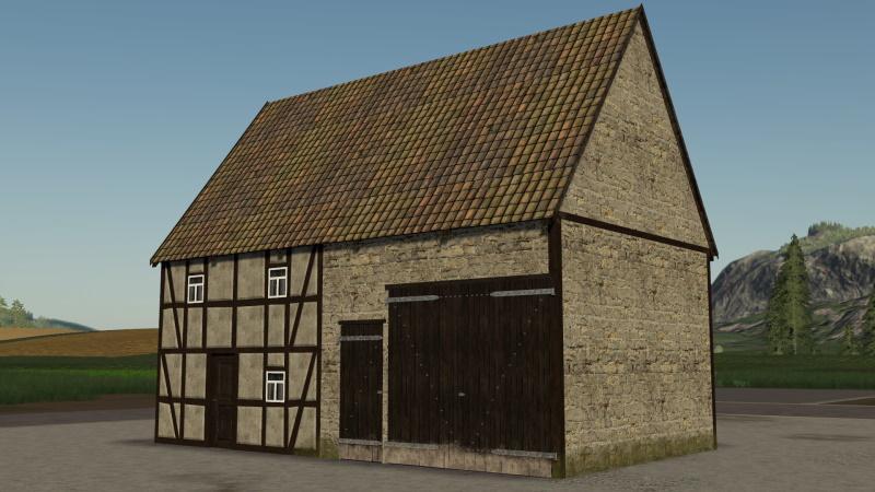 FS19 - Small Half-Timbered Farmhouse V1.0