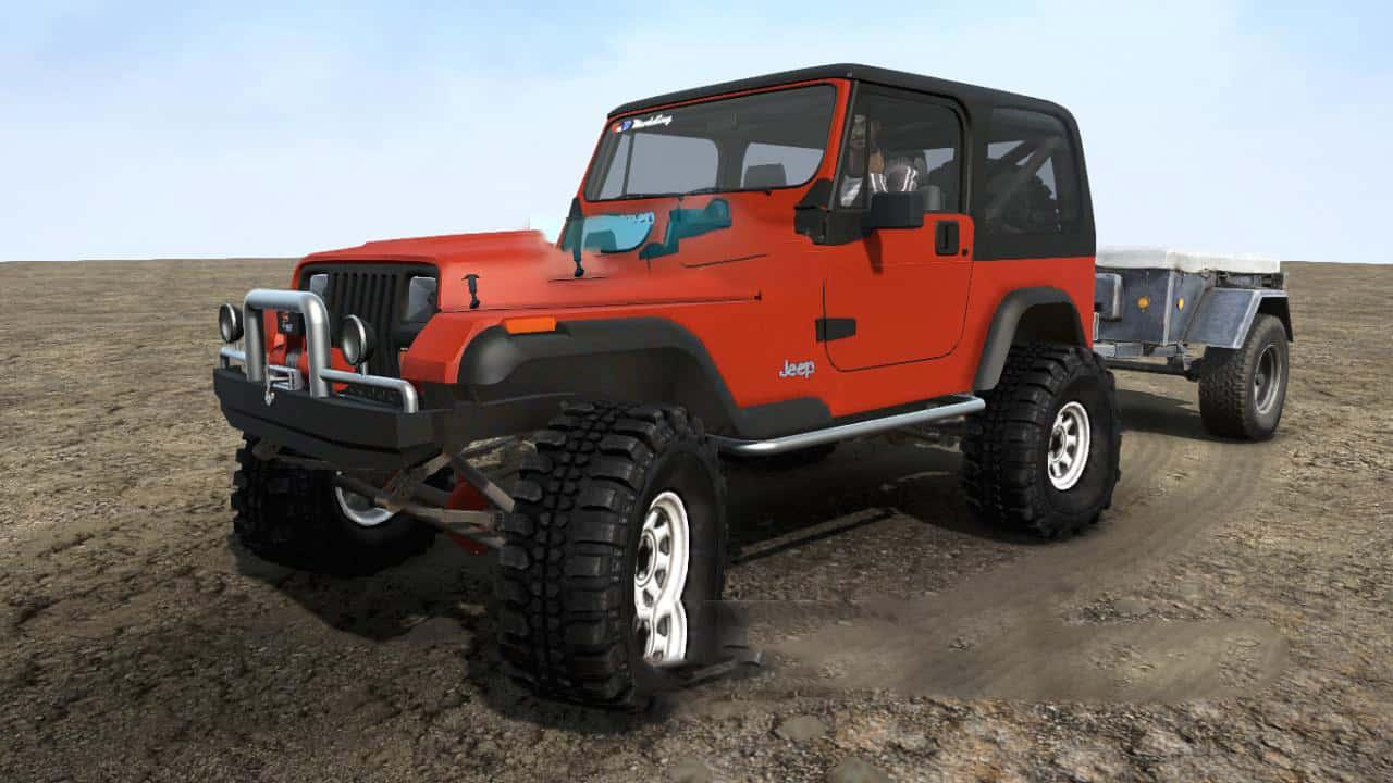 SpinTires:Mudrunner - 1989 Jeep YJ Wrangler v1.0
