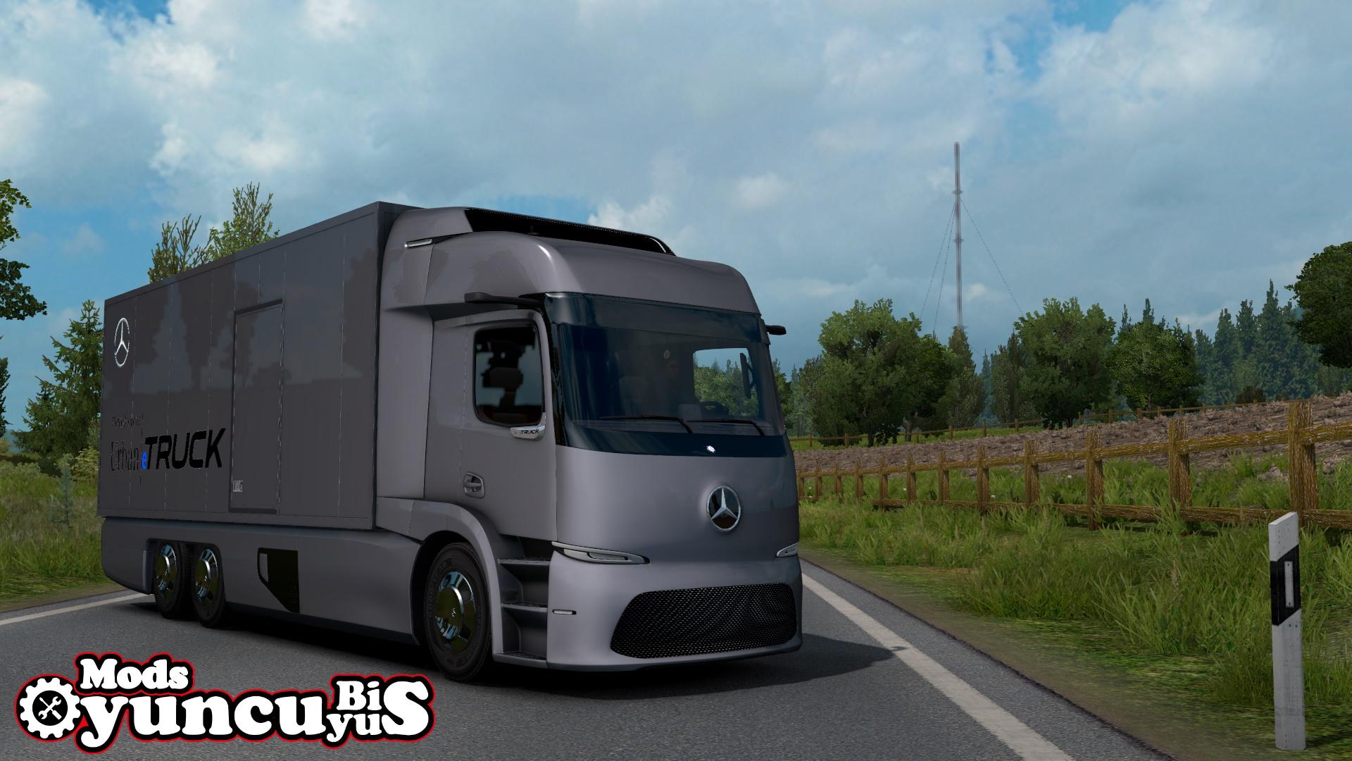 ETS2 - Mercedes-Benz Urban-e Truck (1.39.x)