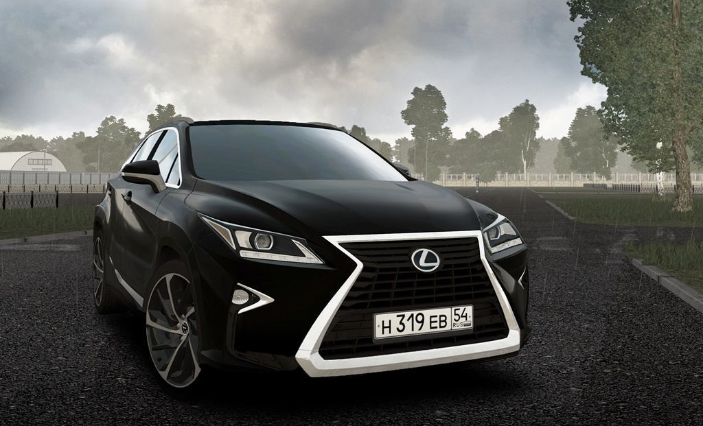City Car Driving 1.5.8 - Lexus RX350 2017