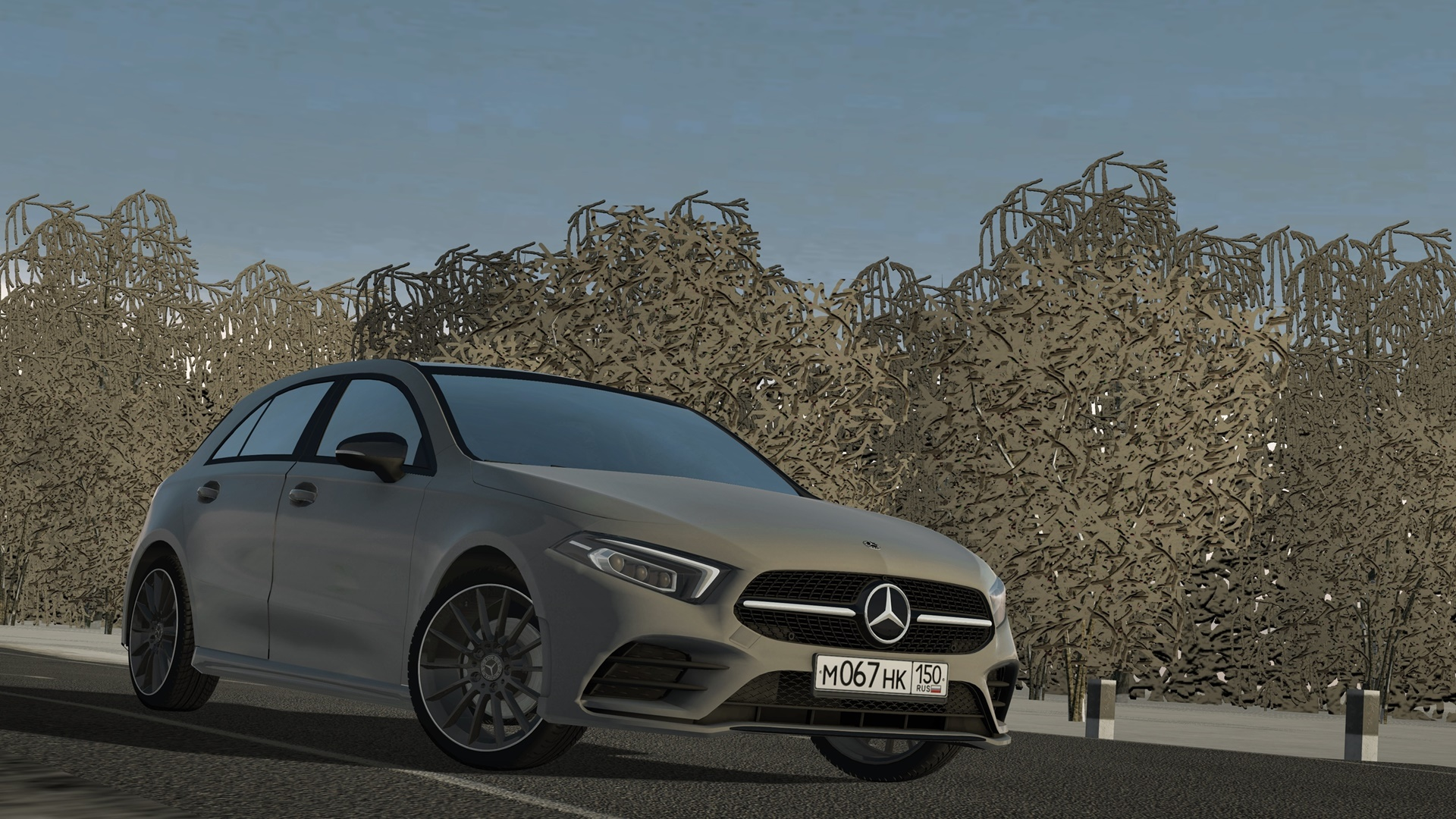 City Car Driving 1.5.8 - 2018 Mercedes-Benz A200