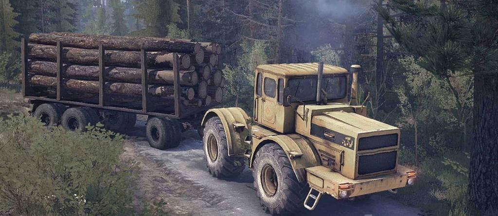 SnowRunner - K 700 Tractor V1