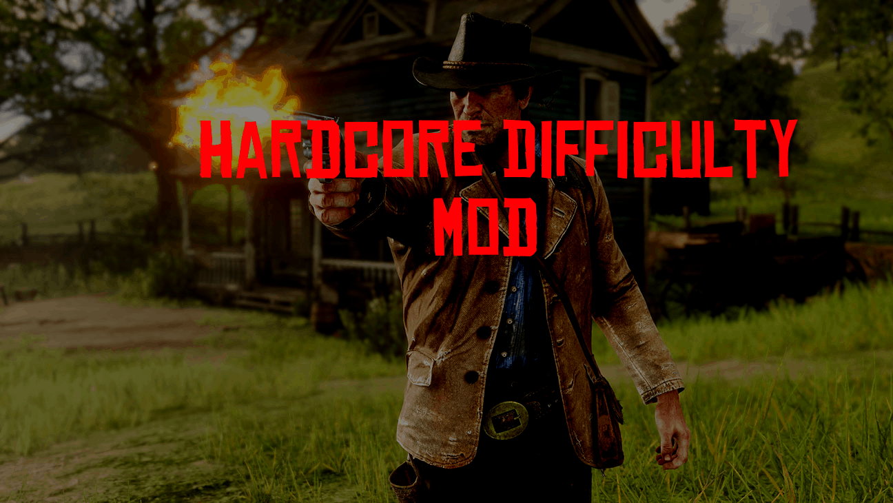 RDR2 - Hardcore Difficulty Mod V0.1.1