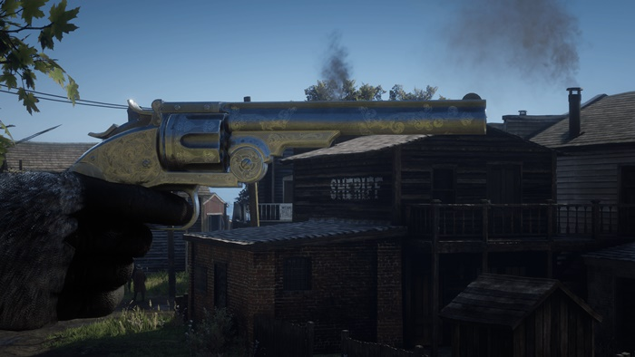 RDR2 - Dutchs Schofield Engravings on the Regular Schofield