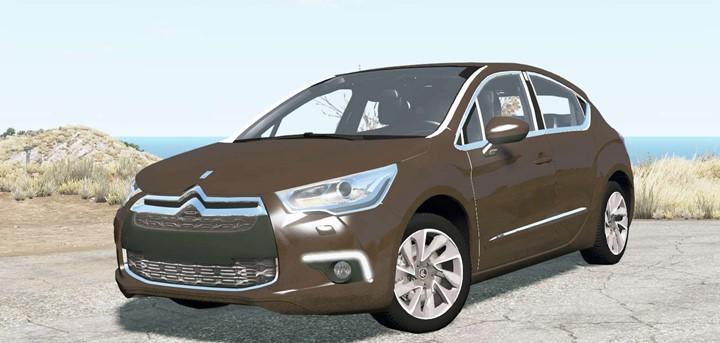 BeamNG - Citroen DS4 2011 Car Mod