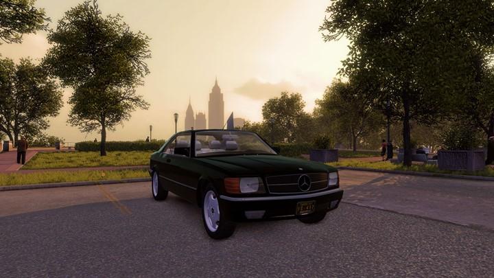 Mafia 2 – Mercedes-Benz W126 560 SEC