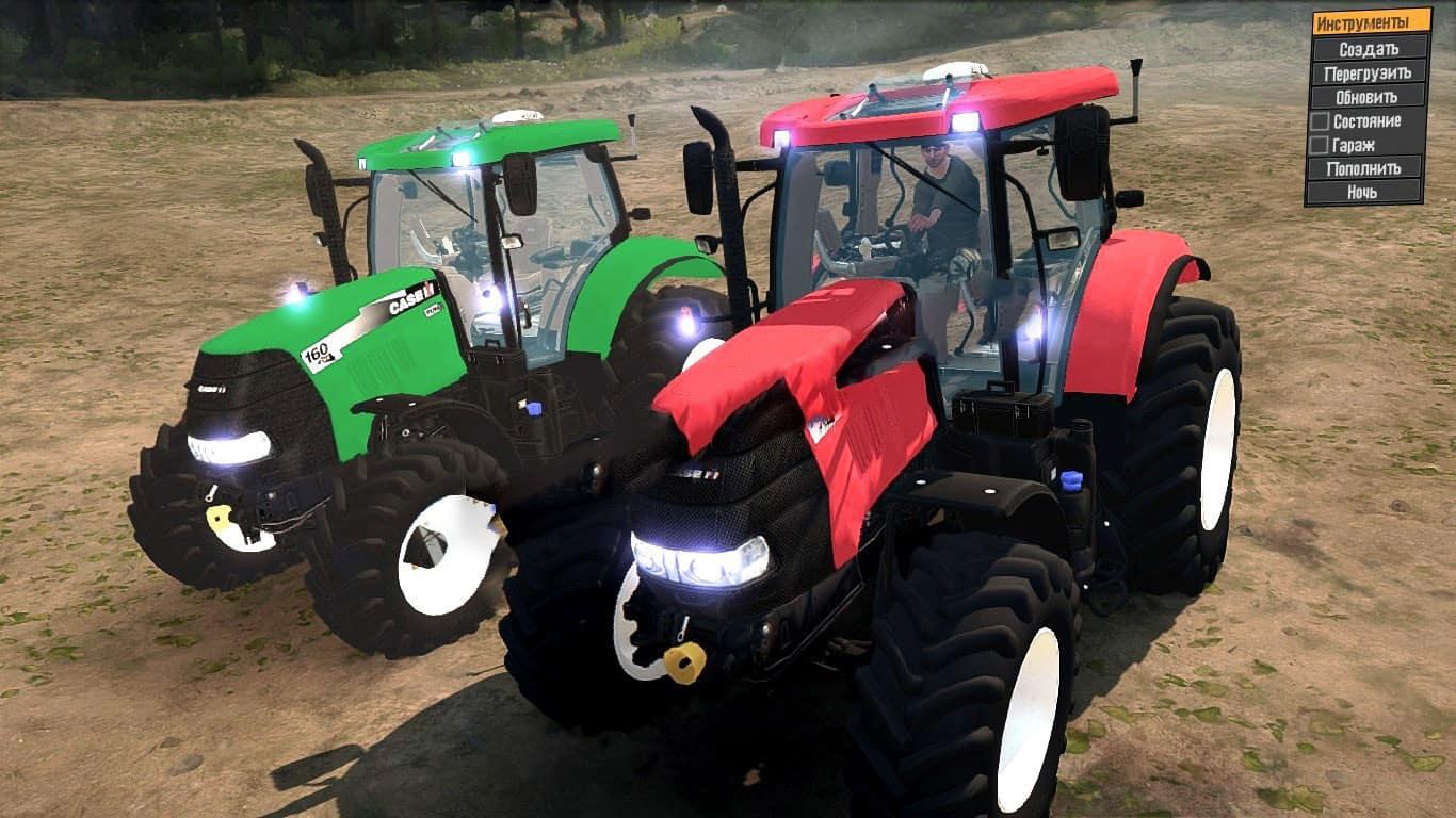 SpinTires:Mudrunner - Case IH 160 CVX Tractor