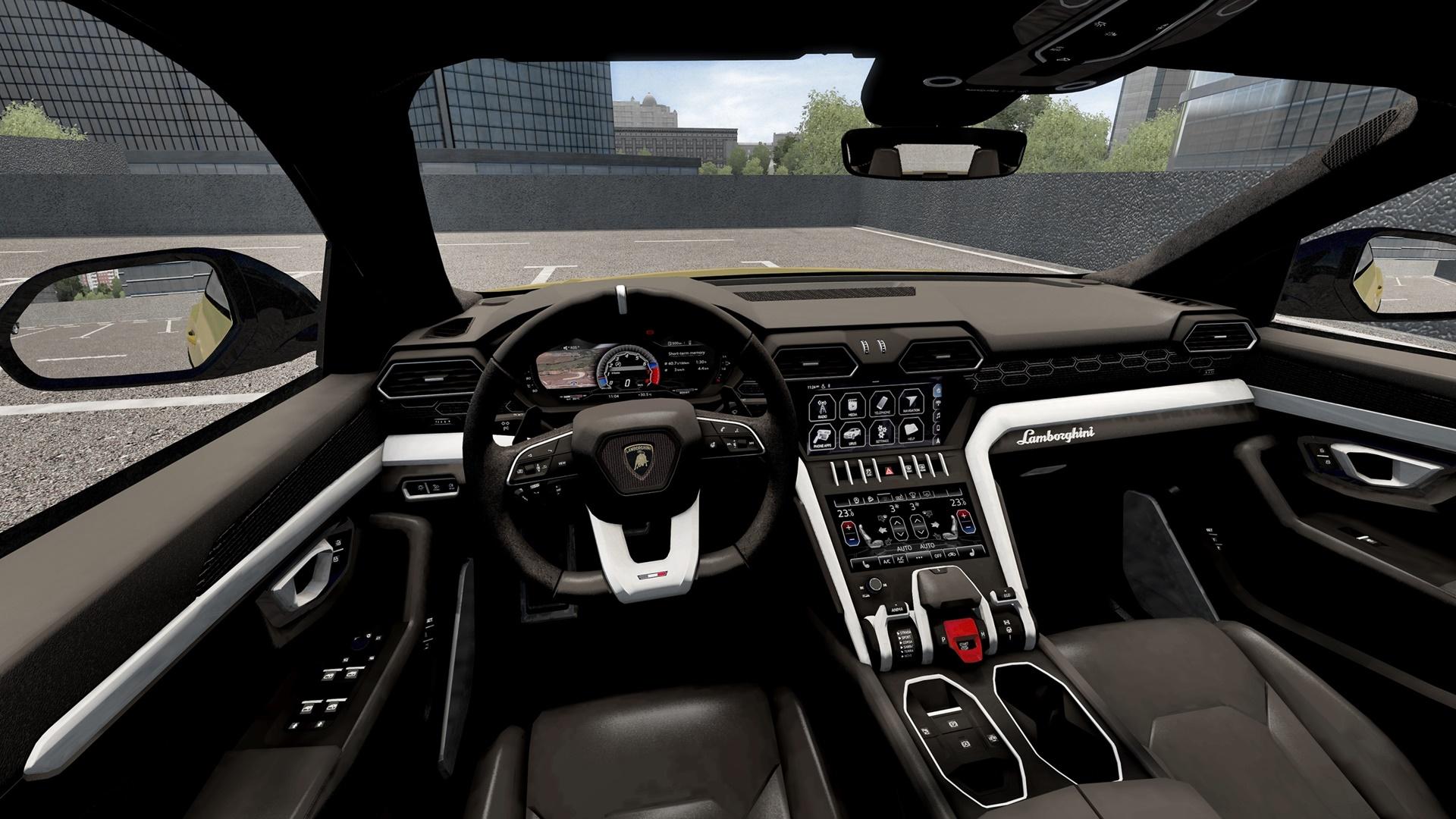 City Car Driving 1.5.8 - Lamborghini Urus 2018