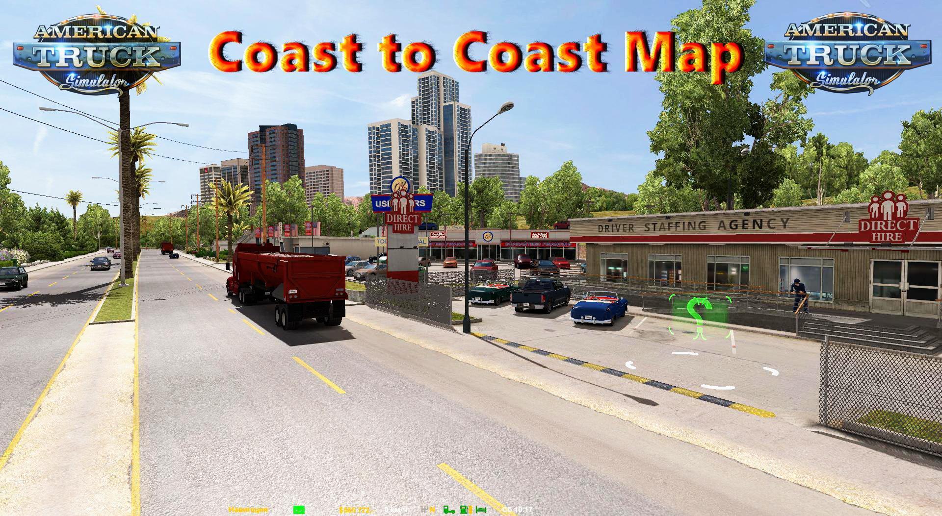 ATS - Coast to Coast Map V2.9 (1.36.X)