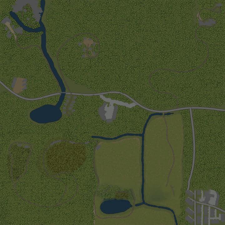 Spintires:Mudrunner - Forest District 6 – Getting Started Map V1.3.2