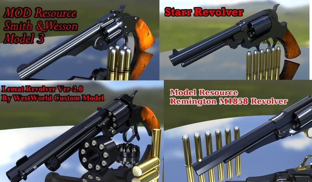 RDR2 - Resource Revolver Mod Pack
