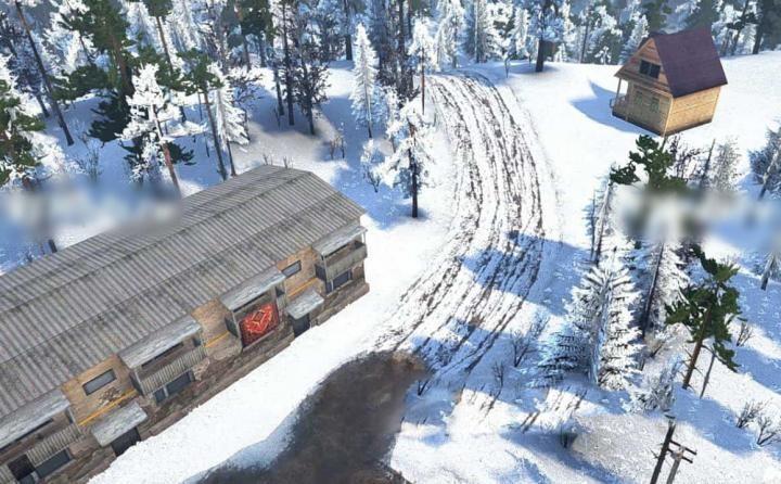 Spintires:Mudrunner - Rolling Snow Map v1.0