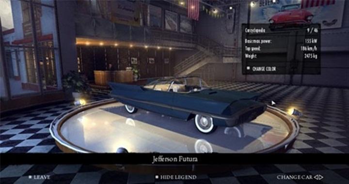 Mafia 2 – Lincoln Jefferson Fortuna 1955