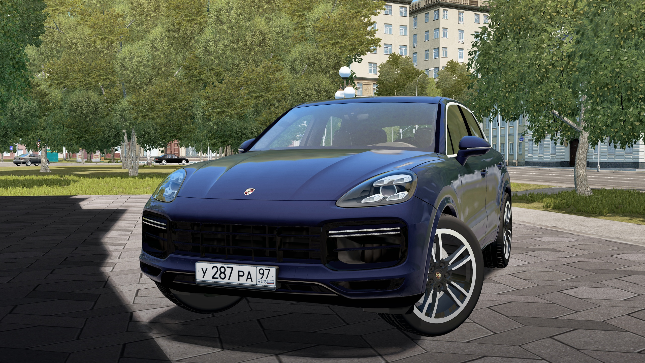 City Car Driving 1.5.8 - Porsche Cayenne Turbo 2019