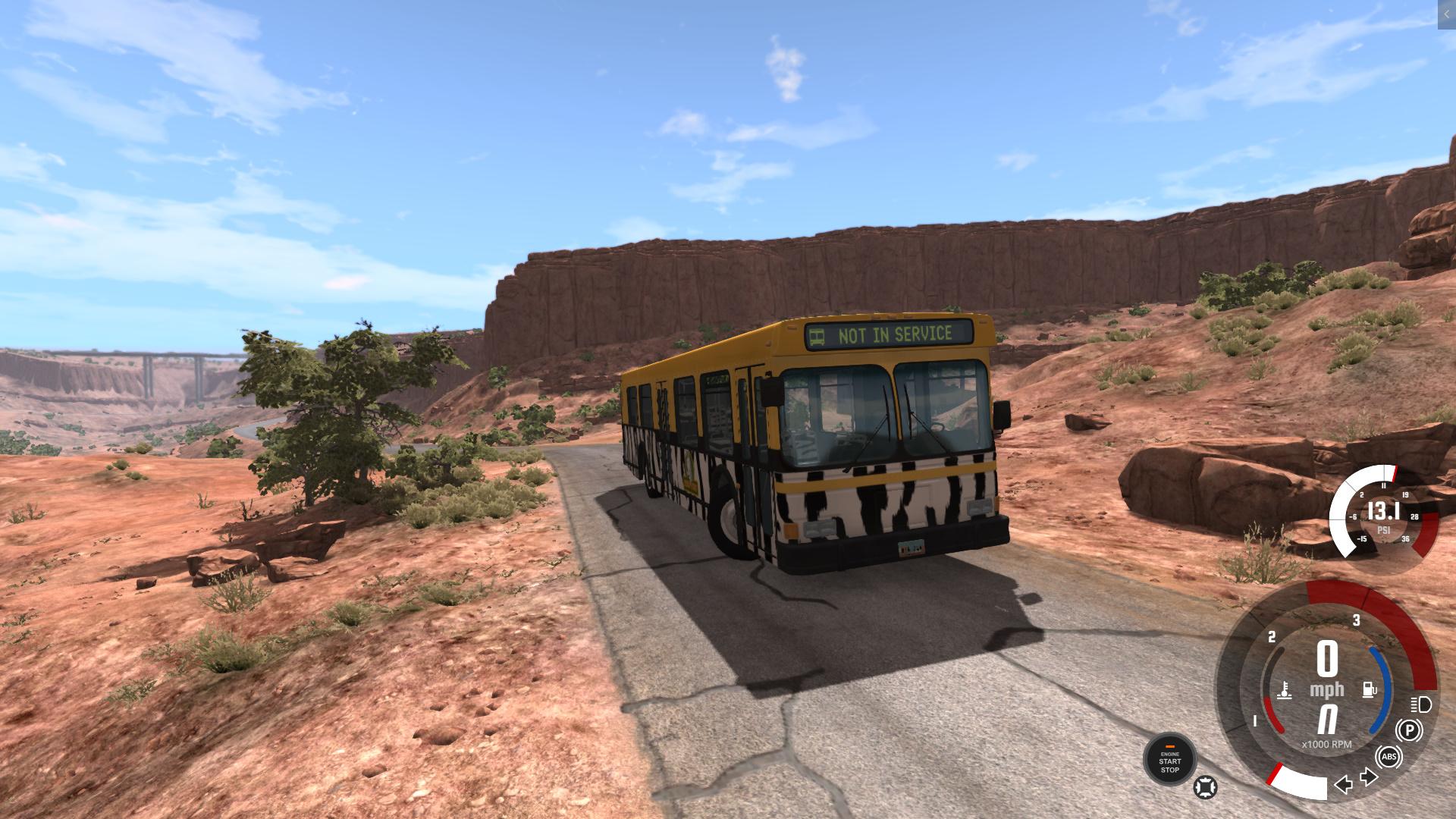 BeamNG - Wentward DT35SE Bus Mod V2.1