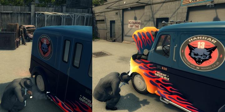 Mafia 2 – Milk Truck Hangar 13 Edition