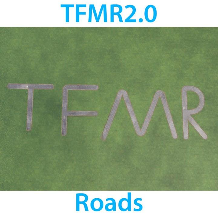 TFMR2.0 Roads (Transport Fever Modular Road)