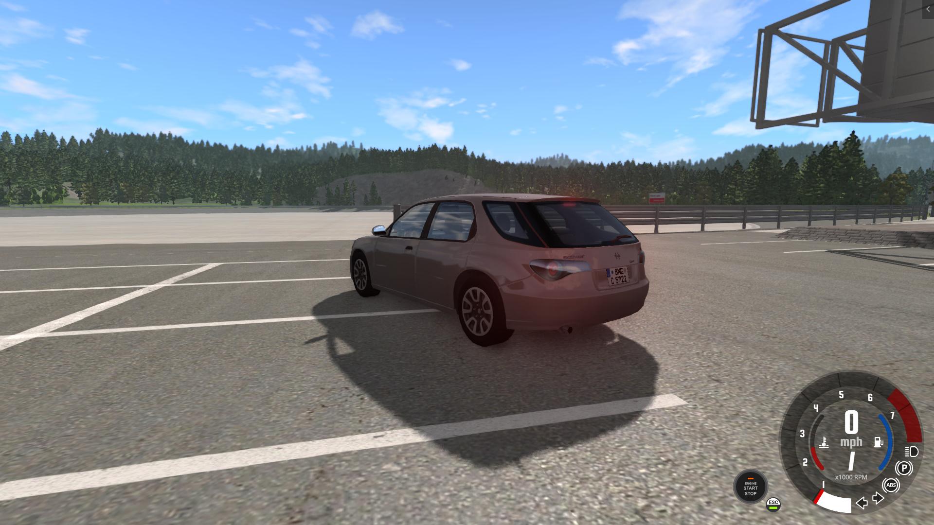 BeamNG - Hirochi Sunburst Wagon V1.11