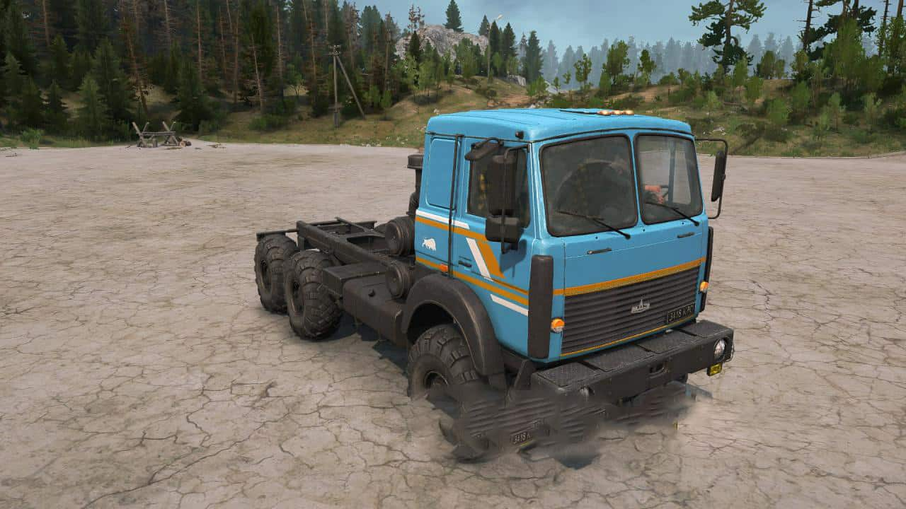 Spintires:Mudrunner - Texture for Maz-6317 V1.2