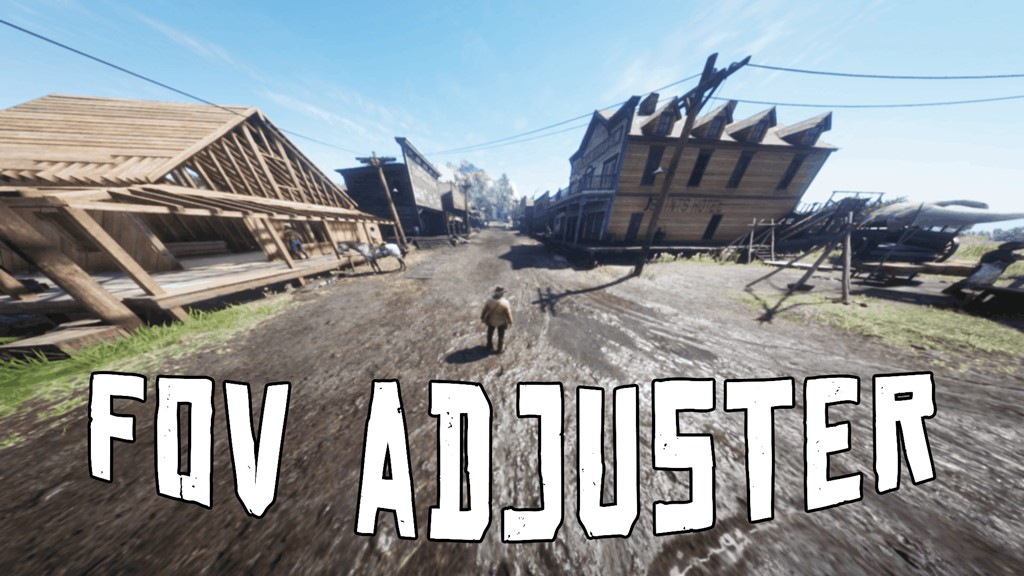 RDR2 - FOV Adjuster