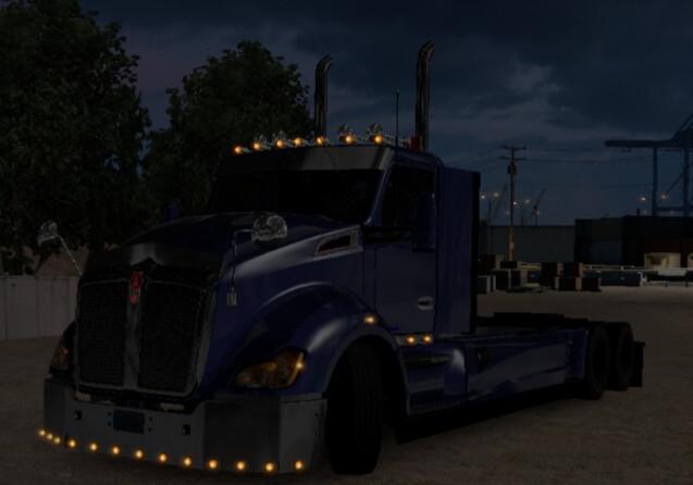 ATS - Kenworth T680 Custom Truck (1.39.x)