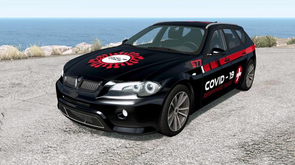 BeamNG - ETK 800-Series COVID-19 Rapid Response Car Mod