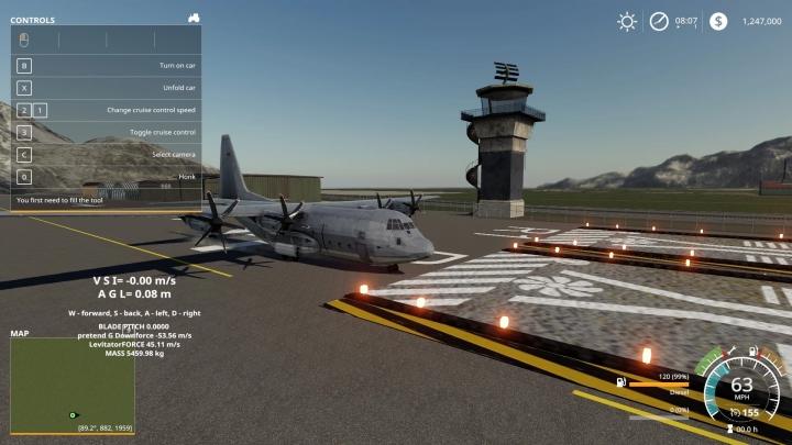 FS19 - C-130 Cargo Plane V1.0