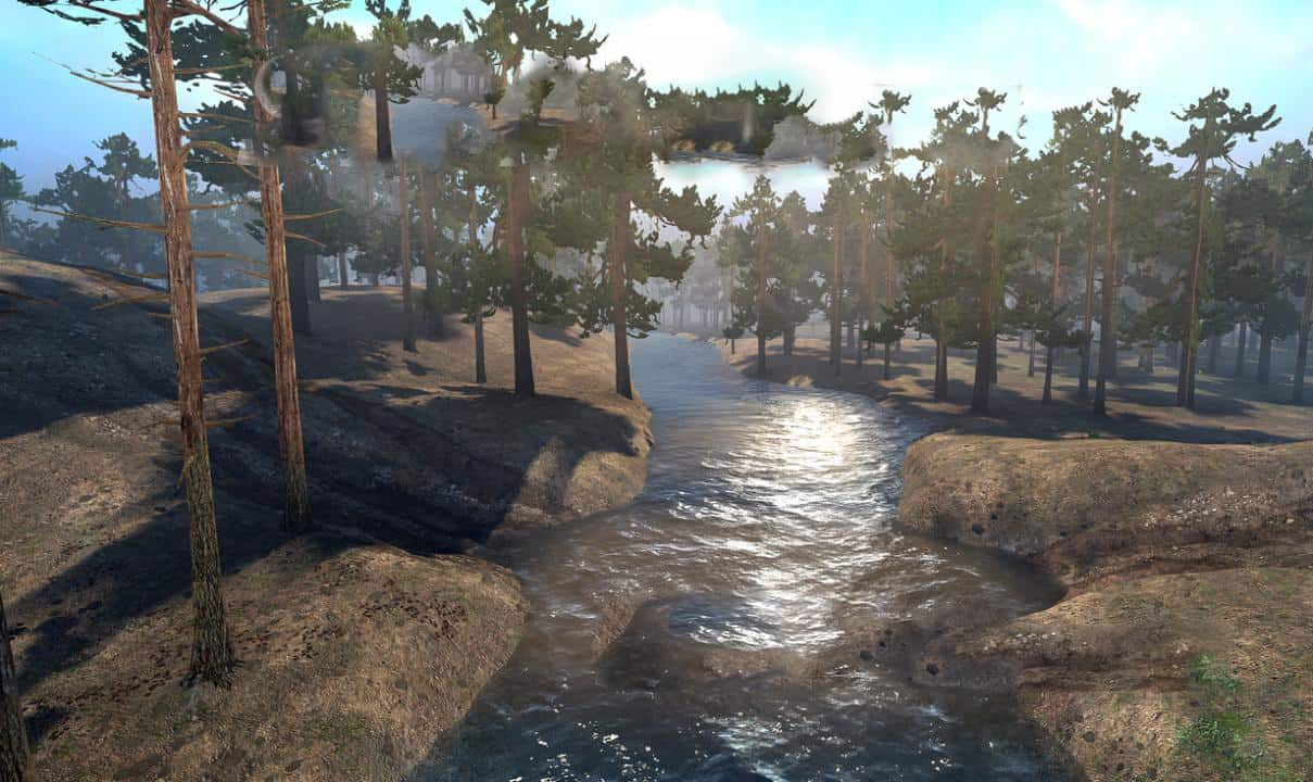 Spintires:Mudrunner - Minute Map V1.0