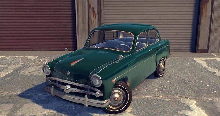 Mafia 2 – 1959 Moskvich 407
