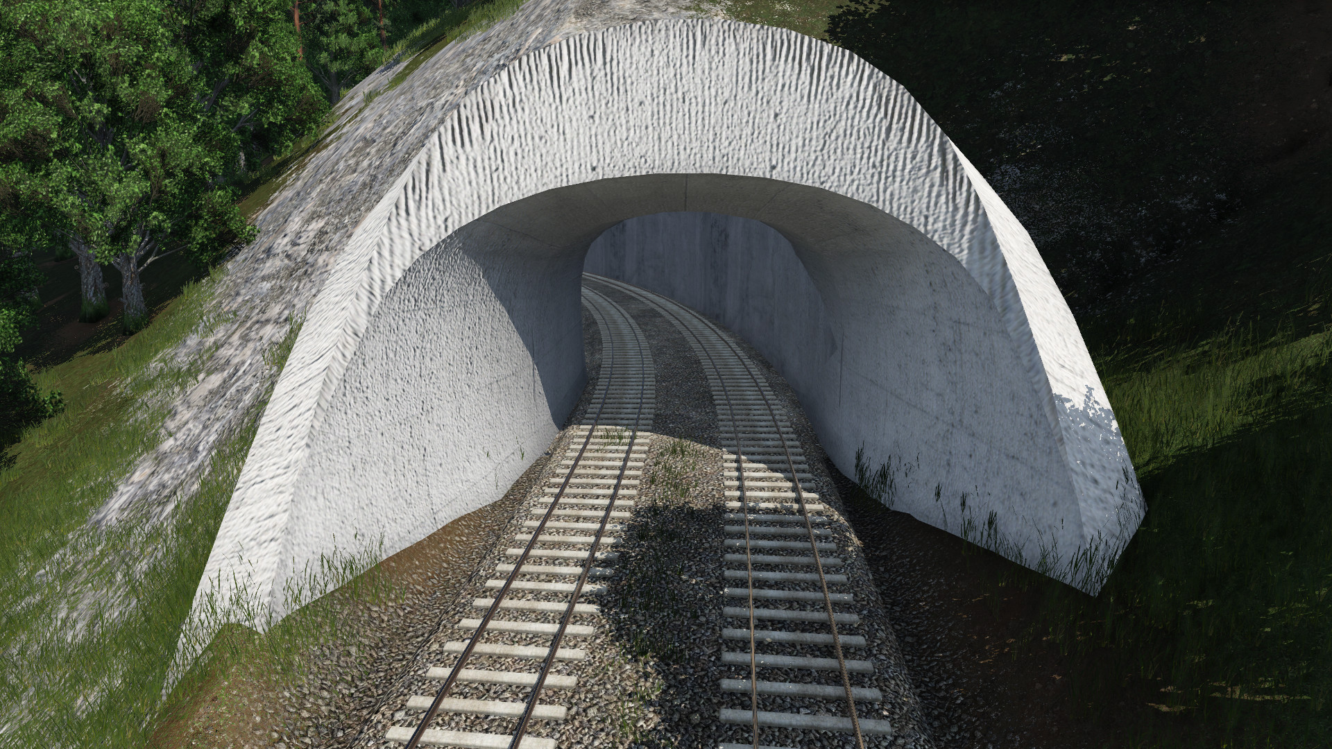 Transport Fever 2 - Tunnel Repainter