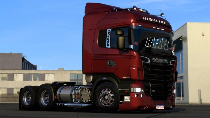 ETS2 - Scania R&S and 124G Brazilian Edit (1.40.x)