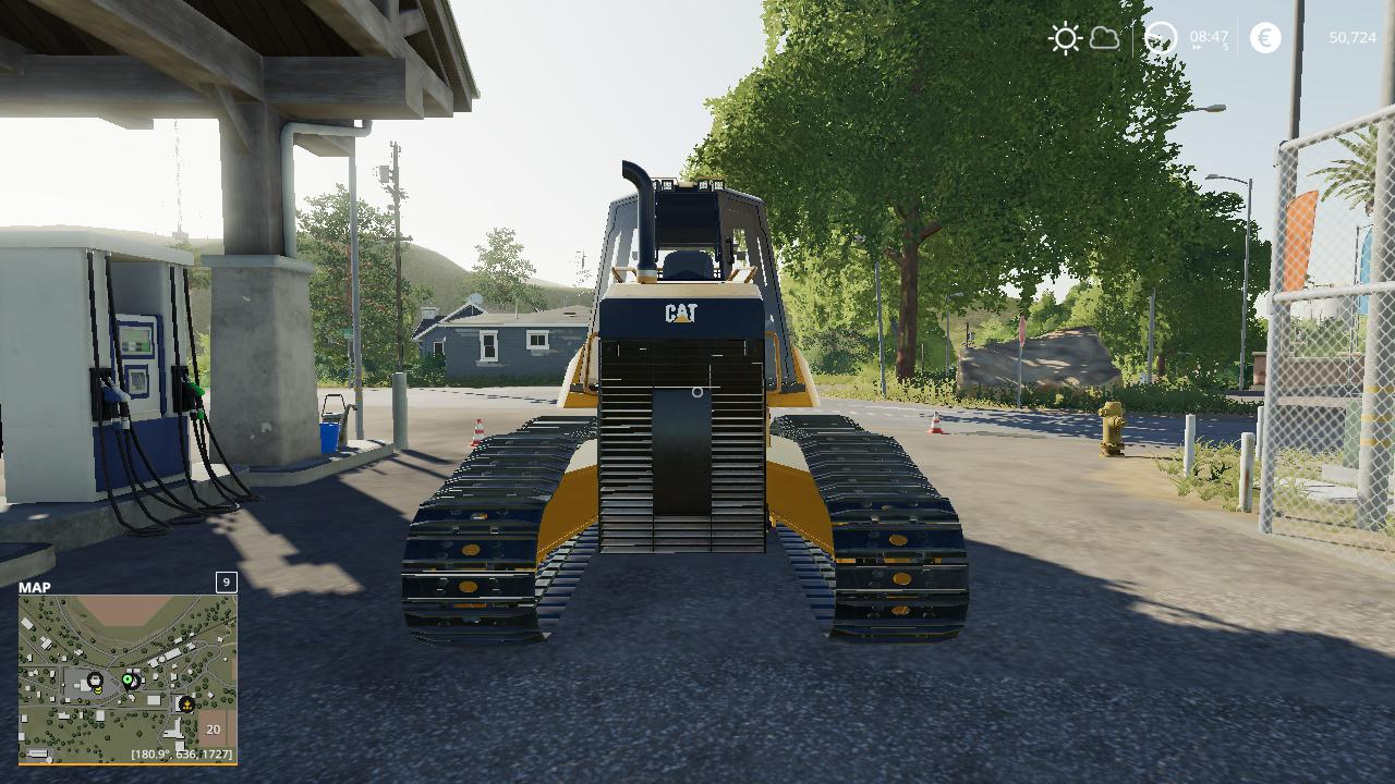 FS19 - Caterpillar D6K Winch Dozer V1.0