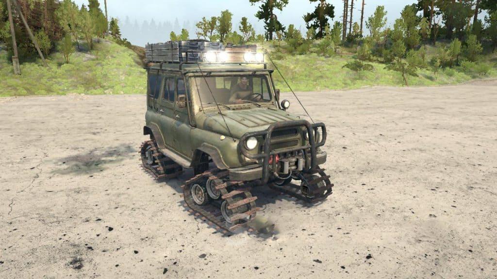 Spintires:Mudrunner - Uaz 469 ATV V1
