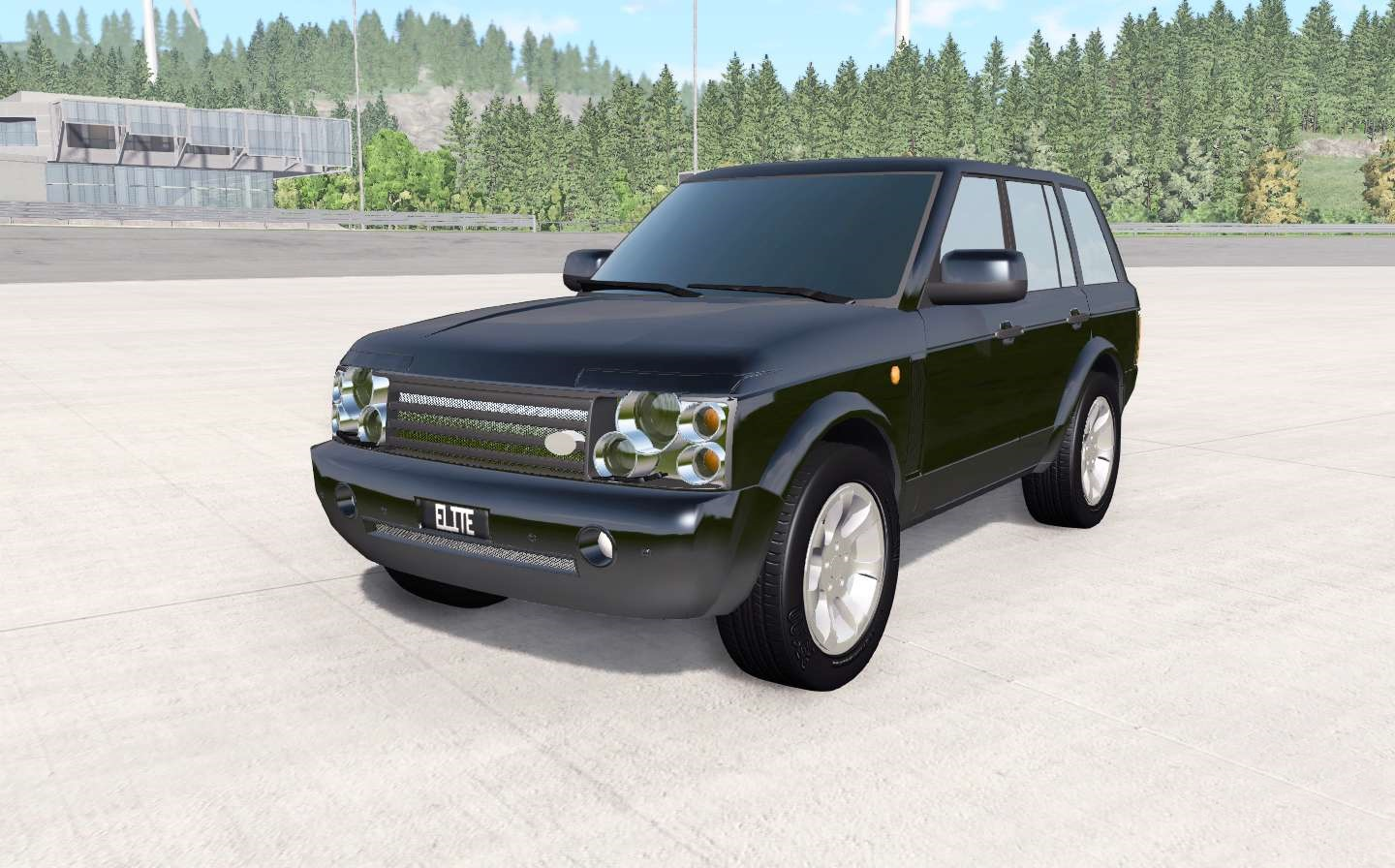 BeamNG - Land Rover Range Rover (L322) Car Mod