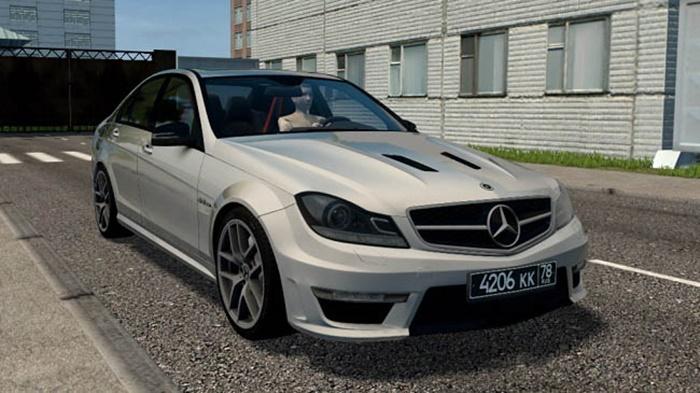 City Car Driving 1.5.9 – Mercedes-Benz C63 AMG W204