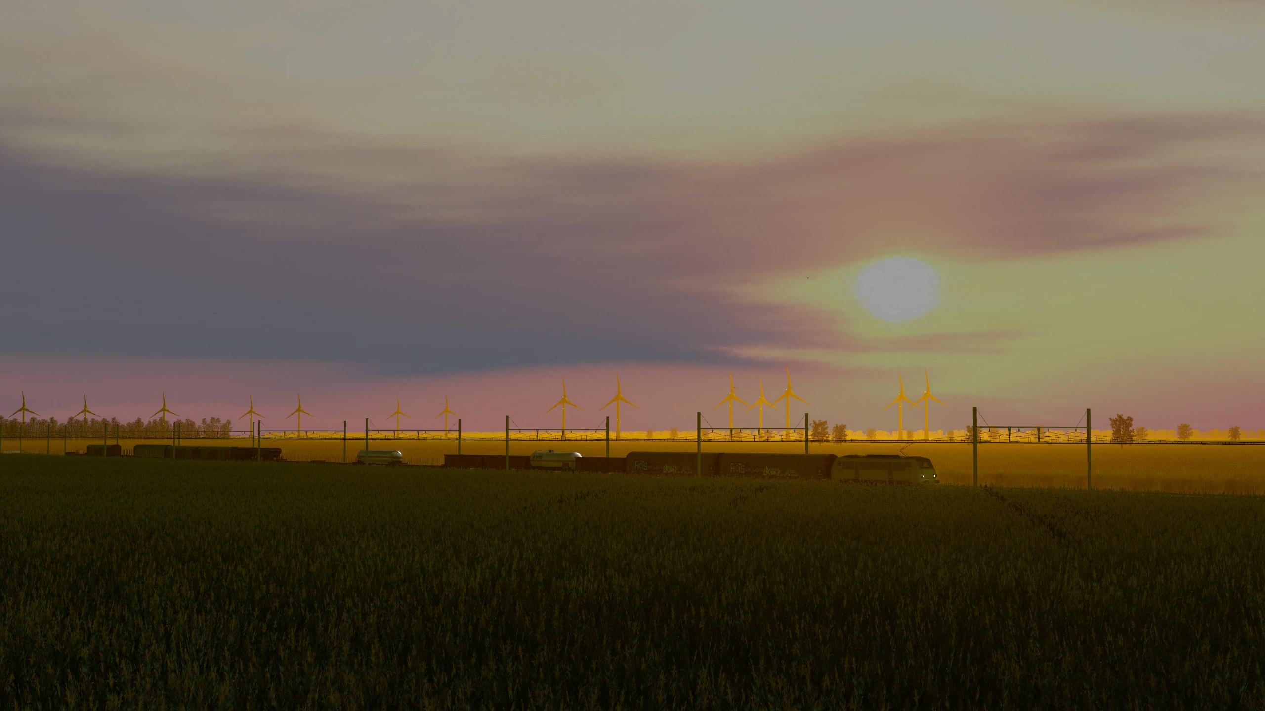Transport Fever 2 - Sunset