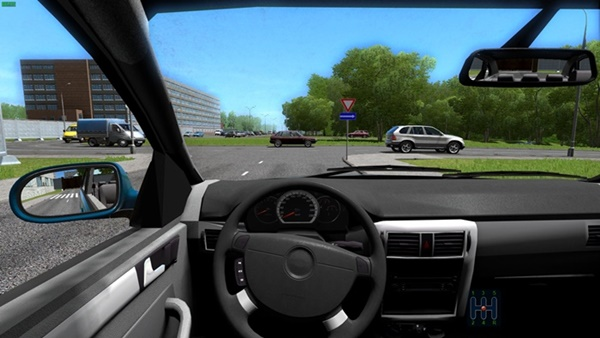 City Car Driving 1.5.9 - Chevrolet Lacetti