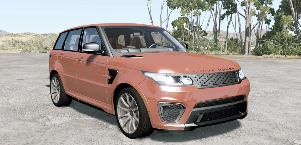 BeamNG - Range Rover Sport SVR 2015 Car Mod