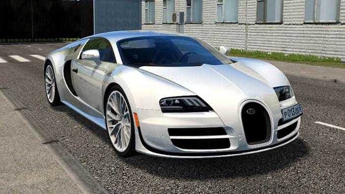 City Car Driving 1.5.9 – Bugatti Veyron Super Sport
