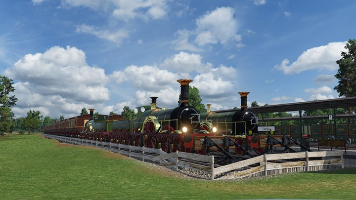 Transport Fever 2 - GWR Broad Gauge Expansion Pack