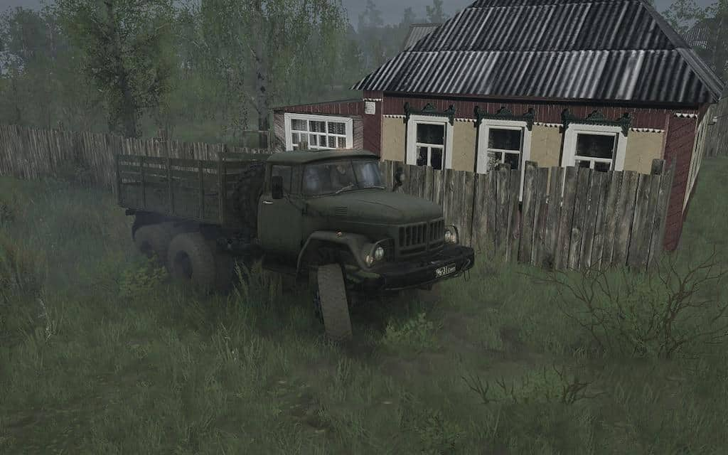 Spintires:Mudrunner - Sound of Air Discharge Zil-130 and Zil-131 V1.0
