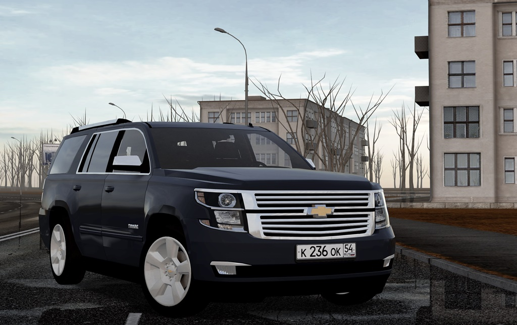 City Car Driving 1.5.8 - Chevrolet Tahoe LTZ 2015