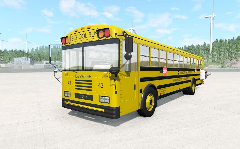 BeamNG - Dansworth D2500 (Type-D) School Bus Mod V6.2