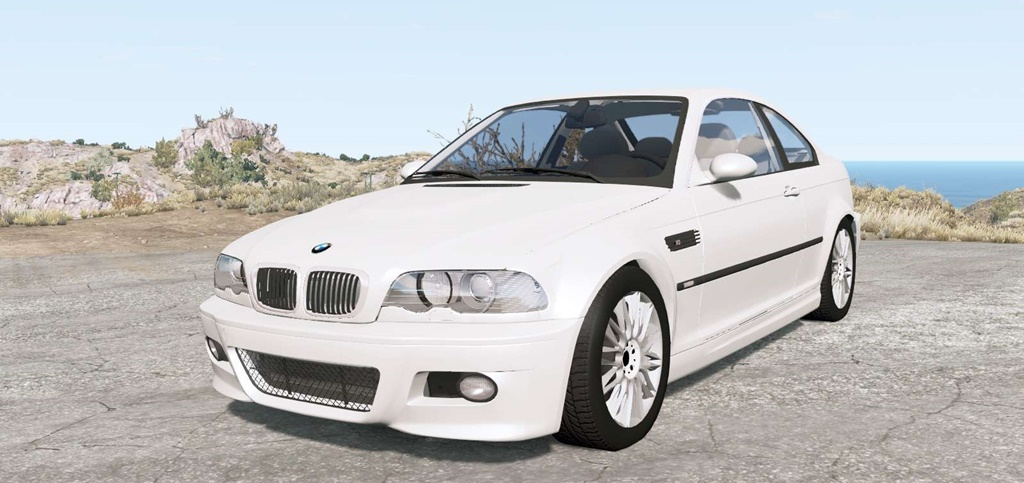 BeamNG - BMW M3 Coupe (E46) 2001 Car Mod